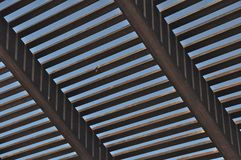 Perpendicular Slats Stock Photo