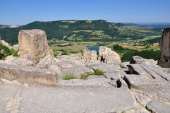 Perperikon is consecrated to Dionysus Royalty Free Stock Photo