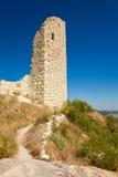 perperikon wieża obserwacyjna Zdjęcia Royalty Free