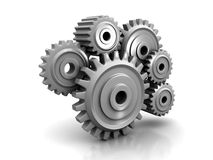 Perpetuum mobile : Gears Stock Images