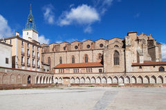 Perpignan Cathedral. Cathedral of Saint-Jean-Baptiste in Perpignan, Languedoc-Roussillon, France Stock Photography