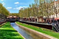 Perpignan. France Stock Image