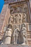 Monument Aux Morts Pour La France in Perpignan, France. Perpignan, France - July 27, 2014: Monument Aux Morts Pour La France, sculptor Gustave Violet Stock Images