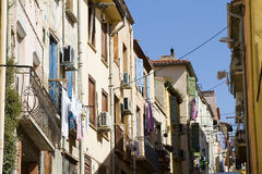 Perpignan, France. View of a street in Perpignan, France Royalty Free Stock Photography