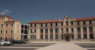 Perpignan, Francja Jean Moulin szkoła wyższa W Pogodnym wiosna dniu zbiory