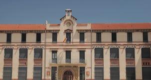 Perpignan, Francja Jean Moulin szkoła wyższa W Pogodnym wiosna dniu zbiory wideo