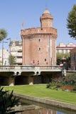 Perpignan Frankrike Fotografering för Bildbyråer