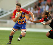 Perpignan's flanker Bertrand Guiry Stock Photos