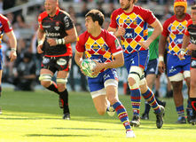Perpignan's fullback Jerome Porical Royalty Free Stock Photography