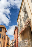 Perpignan streets Royalty Free Stock Images