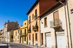 Perpignan streets Stock Photography
