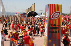 Perpignan vs Toulon Royalty Free Stock Photos