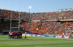 Perpignan vs Toulon Stock Images