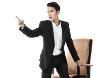 Perplexed businessman Stock Photography