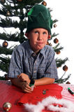 Perplexed Elf Stock Photo