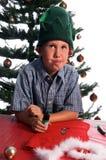 Perplexed Elf Stock Photo