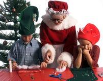Perplexed Elf Stock Image