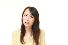 Perplexed woman Royalty Free Stock Photography