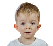 Perplexity baby boy isolated stock photos