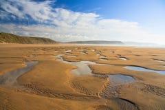 Perranbaai in Cornwall, het UK stock afbeelding