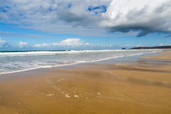 Perranporth Beach Cornwall Royalty Free Stock Photos