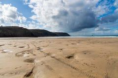 Perranporth Beach Cornwall Stock Photography