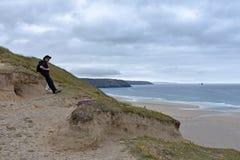Perranporth, Cornwall Lizenzfreie Stockfotografie