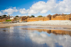 Perranuthnoe Beach Cornwall England Stock Photos