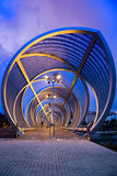 Perrault bridge at night Stock Image