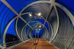Perrault Footbridge Zdjęcia Stock