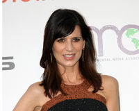 Perrey Reeves. LOS ANGELES - OCT 15:  Perrey Reeves arriving at the 2011 Environmental Media Awards at the Warner Brothers Studio on October 15, 2011 in Beverly Stock Images
