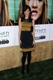 Perrey Reeves. At the HBO Premiere of Enlightened, Paramount Theater, Hollywood, CA. 10-06-11 Royalty Free Stock Photos