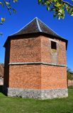 Perriers-sur Andelle, Frankreich - 4. Oktober 2016: Colmont-Landsitz Lizenzfreies Stockbild