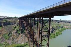 Perrine桥梁-爱达荷 免版税图库摄影