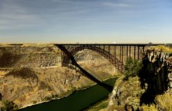 Perrine Bridge fotografia stock