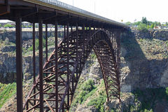 Perrine Bridge - Idaho arkivbilder