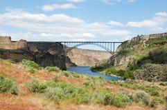 Perrine most nad wąż rzeką zdjęcie stock