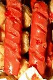 Perrito caliente Imagen de archivo