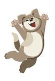 Perrito feliz Imágenes de archivo libres de regalías