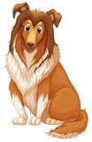 Perro stock de ilustración