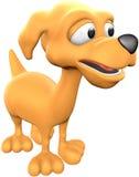 Perro anaranjado Imagenes de archivo