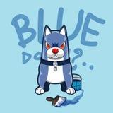 Perro azul Fotos de archivo libres de regalías