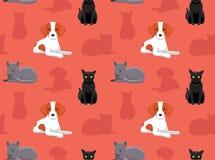 Perro Cat Wallpaper 6 Fotos de archivo libres de regalías
