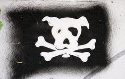 Perro de Graffity Imágenes de archivo libres de regalías