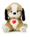 Perro de juguete en el fondo blanco Imagen de archivo libre de regalías