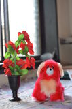 Perro de juguete suave Imagen de archivo libre de regalías
