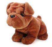 Perro de la felpa. Imagen de archivo libre de regalías