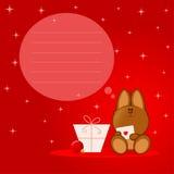 Perro de la Navidad libre illustration