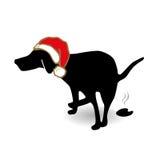 Perro de Navidad Fotos de archivo