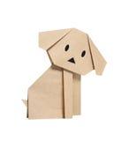 Perro de Origami Imagenes de archivo